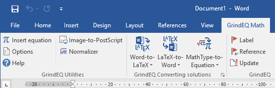 Microsoft Word Ribbon